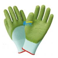 Wholesale 13 guage nylon or ployester latex 3/4 dipped work glove from china suppliers