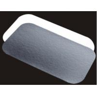 Wholesale Aluminum foil trays with paper lid from china suppliers