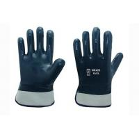 Wholesale Cotton Jersey liner with full nitrile coating Gloves from china suppliers