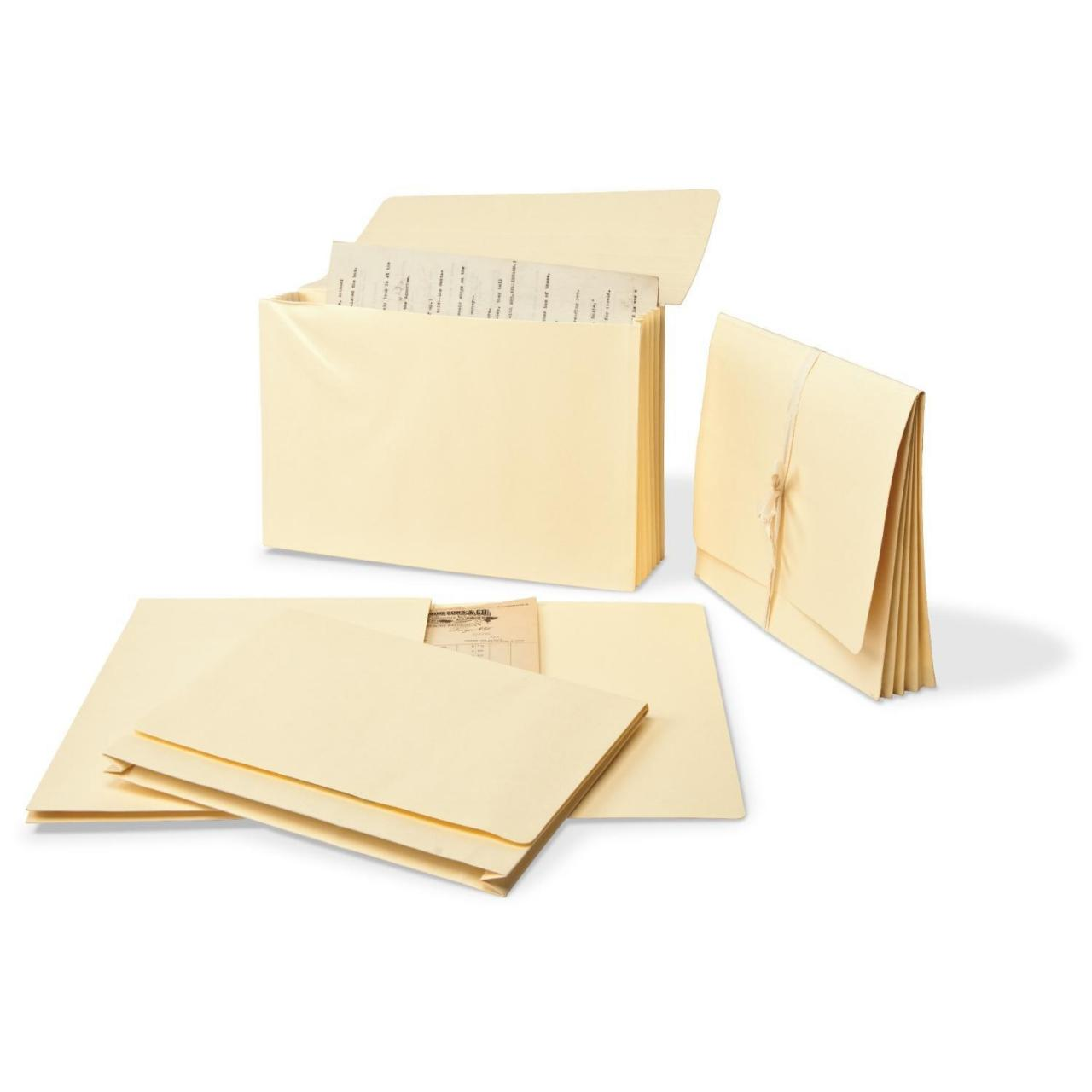"""Wholesale Gaylord Archival Expanding Letter Size File Folders with 1 1/2"""" Gussets (5-Pack) from china suppliers"""