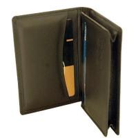 Wholesale Cow hide leather card holder(Round pocket)(673) from china suppliers