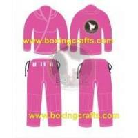 Wholesale BJJ GI PINK BJJ GOLD WEAVE UNIFORM from china suppliers