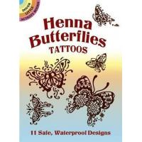 China Henna Butterfly Tattoos CH1050 on sale