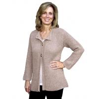 Wholesale Women's Alpaca Alpaca Swing Cardigan ~ Hand knit! from china suppliers