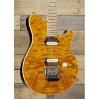China Music Man Axis with Trans Gold Quilt and Matching HeadstockModel# 300-Q1-11-00 wholesale