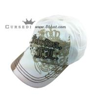Buy cheap New cotton 6 panels baseball cap with metal buckle from wholesalers
