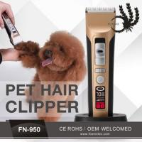Grooming A Small Dog With Electric Barber Clipper