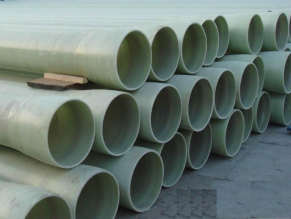 Glass fiber reinforced plastic pipe of item