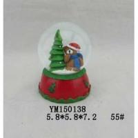Wholesale Bear Polyresin 55mm Christmas Waterglobe from china suppliers