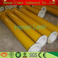 China Rubber lined pipe and pipe fittings Rubber lined pipe fitting on sale