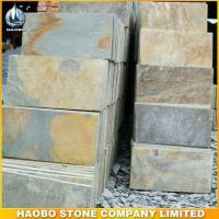 Wholesale Blocks and Slabs Rusty Yellow Slate Tiles from china suppliers