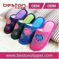 Delicate Machine Embroidery Slipper, Ladies Indoor Slipper