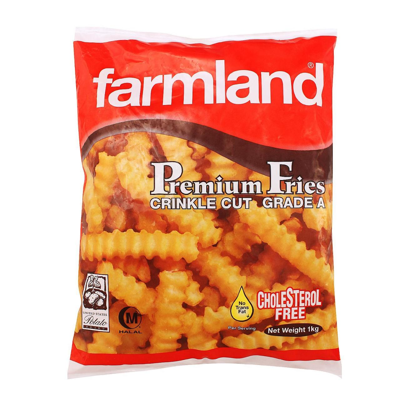 Wholesale Chilled Item Farmland Crinkle Cut Fries 10x1kg from china suppliers
