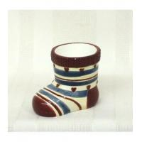 Wholesale Votive and Tea Light Holders Stocking Tea Light Holder - Winter Village from china suppliers