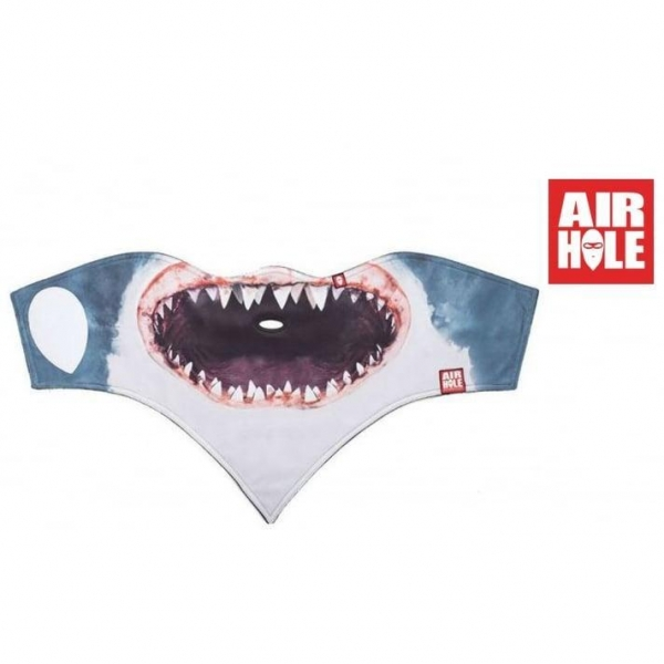 Quality Air Hole Adults Shark Facemask for sale