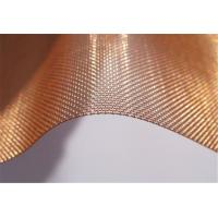 Wholesale Architectural Decorative industrial Filter Mesh High Quality Pure Copper Wire Cloth Mesh Screen from china suppliers