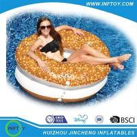 inflatable donut float