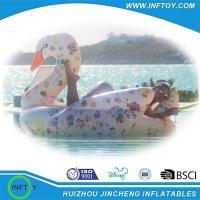 inflatable swan float