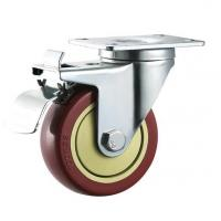Wholesale 3/4/5 95x67/105x80 ball bearing furniture swivel locking wheel caster from china suppliers