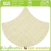 Wholesale Wool Silk Decorative Acoustics Tiles for Sound Absorbing and Insulation in Office, Hotel from china suppliers