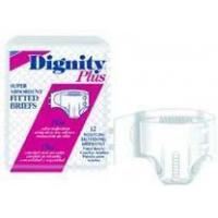 China Dignity Plus Adult Fitted Brief, Extra Large, 8/Pack on sale