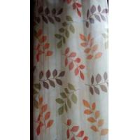 Wholesale Leaves printed oxford curtain from china suppliers