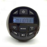 Wholesale Waterproof Marine Gauge Stereo Radio FM AM BT from china suppliers