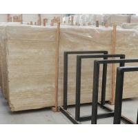Wholesale Imported Italian beige travertine marble flooring tiles from china suppliers