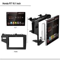 Wholesale Honda FIT 10.1android car dvd player from china suppliers