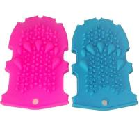 Wholesale RENJIA silicone glove mold Silicone Massage Bath Gloves silicone glove mitt from china suppliers