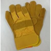 Wholesale HLC852 cow split leather work glove from china suppliers