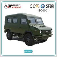 Wholesale TypeⅡ4 4 / 4WD Off Road Right Hand Drive / RHD Iveco Diesel Ambulance from china suppliers