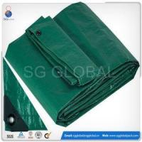 Wholesale Heavy Duty Silver Waterproof Woven Polyethylene Tarps And Covers Fabric from china suppliers
