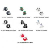 Wholesale STAR WARS CUFFLINKS - BOBA FETT from china suppliers