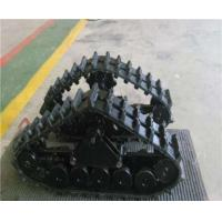 China Rubber Track System with High Quality for Small Machine ZYW-130 on sale