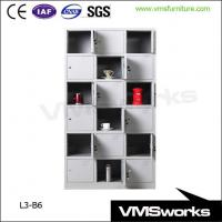 Wholesale Heavy Duty Custom Metal Public 18 Door Lockers Cabinet For Sale from china suppliers
