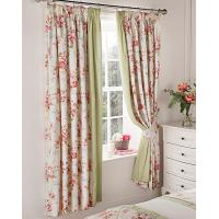 Printing Floral Curtain