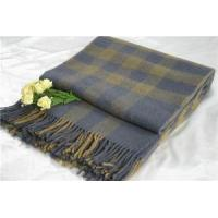 China Wool Blankets Plaid wholesale