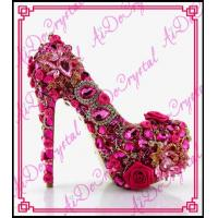 Aidocrystal party queen and nice looking Big size 2015 new design italian shoes for wedding