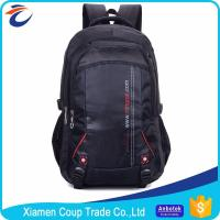Low Price Fashion Wholesale Gym Backpack Laptop Bags Camping 600D Polyester Mens Backpack