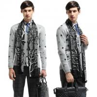 Wholesale Fashion Autumn/Winter Cotton Mens Scarves 180cm Casual from china suppliers