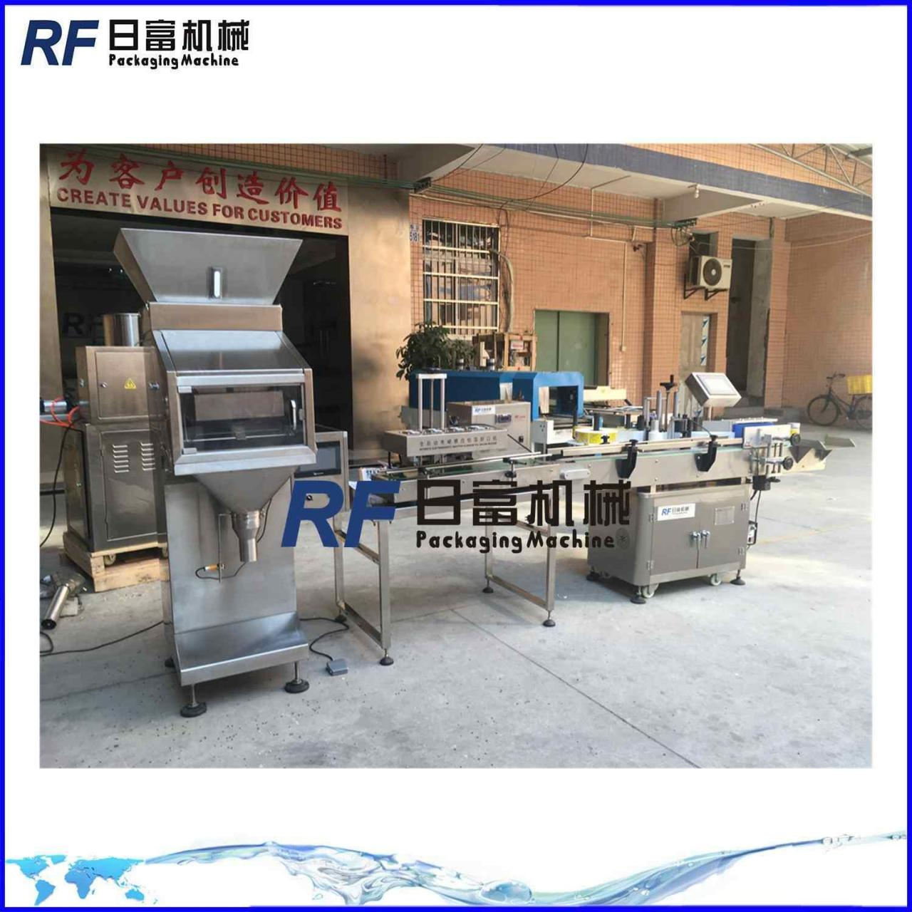Wholesale Mung bean packing line with linear weigher from china suppliers