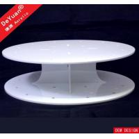 Round Cake Stand White Cupcake Stand / Round Display Stands Wedding Party Decorating
