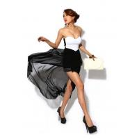 Wholesale Women Solid Straight Short Chiffon Polyester ... from china suppliers