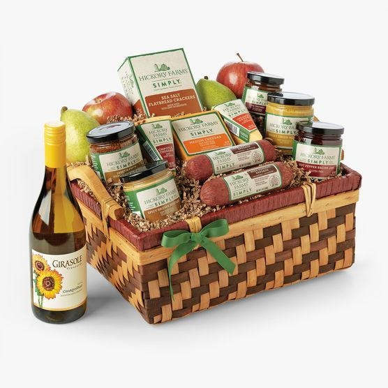Gifts simply hickory farms gift basket of item