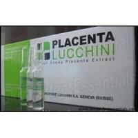 Wholesale 9 trays Placenta Lucchini Fresh Sheep Placenta Extract 10 ampoules x 2ml / tray from china suppliers