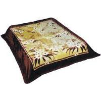 China blanket B037_Coffee wholesale