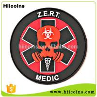 Best Selling Items Wholesale Cheap 3D Soft Team Rubber Patch