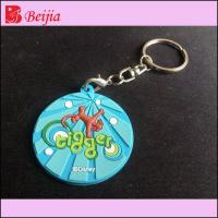 China Gifts & Crafts Best give away gifts glow in dark custom logo 2D/3D soft rubber keyring,pvc keychain wholesale