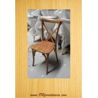 Wholesale Natural Cross Back Dining Chair from china suppliers